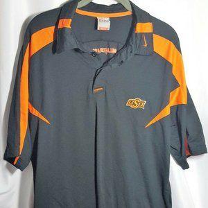 Men's Nike Authentic NCAA Oklahoma State Polo M